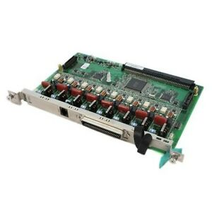 Panasonic Kx tda0180 8 Port Loop Start Co Trunk Card new
