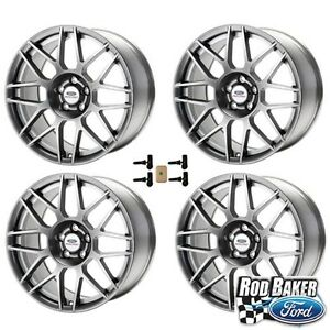 Ford Racing Mustang Svt 19x9 Wheel Set With Tpms Kit