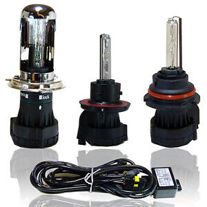 Bi Xenon H4 Replacement Hid Conversion Bulbs High Low Beam H13 9004 9007 Relay