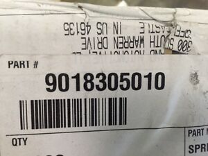 Lot Of 10 Toyota Part 9018305010 Nut New