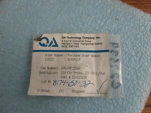 Lot Of Qa Technology 100 prp2506h Probe Pins Lot Of 25 New Old Stock