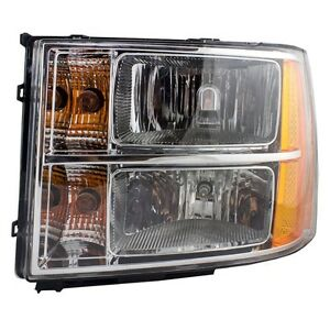 For Gmc Sierra 2007 2008 2009 2010 2011 2012 Headlight Left Driver