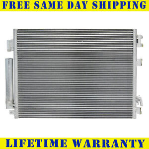 A c Condenser For 2011 2016 Chrysler 300 Dodge Charger Challenger Free Shipping