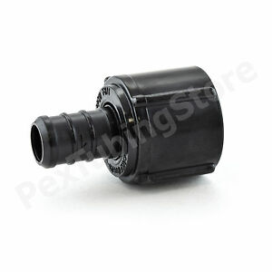 100 1 2 Pex X 1 2 Swivel Fnpt Adapters Poly Alloy Lead free Crimp Fittings
