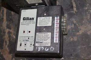 Gilian Hi flow Air Sampler Hfs 513a Brown