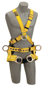 Dbi Sala 1103357 Delta Cross over Style Tower Climbing Harness xs
