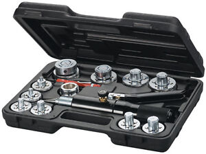 Mastercool 71650 Tube Expanding Tool Kit 10 Head Kit New