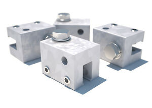 Dbi Sala 7241208 U Maxi Clamp 4 pack For Standing Seam Roof Top Anchor