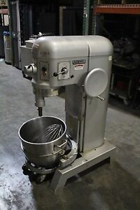 Hobart 60 Qt Dough Mixer With Attachment Model H 600