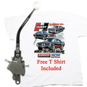 Hurst 3916848 Comp Plus 4 Speed Shifter Camaro Chevelle Early Ford Free T Shirt