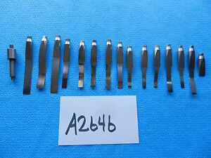 Stryker Orthopedic Arthroscopic Screw On Osteotome Set