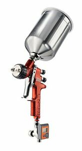 Devilbiss 703662 Tekna 1 3 1 4mm Copper Gravity Feed Spray Gun With 900cc Cup