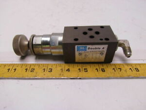 Double A Wnnnc 3 3m k 10a1 g Hydraulic Relief Valve