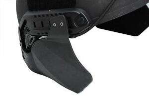 AIRSOFT OPS CORE EAR COVERS HELMET BLACK SWAT MICH BLT JUMP SIDE PANELS UK RAIL $15.65