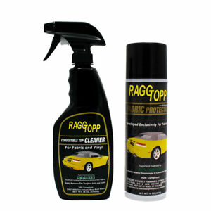 Raggtopp Fabric Protectant And Cleaner Onvertible Top Haartz Uv Blockers Bmw Vw