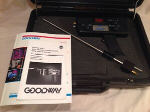 Goodway Eff 1 Electronic Combustion Efficiency Tester Excellent