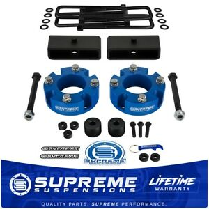 3 Front 1 5 Rear Lift Kit Diff Drop For 2007 2020 Toyota Tundra 4wd