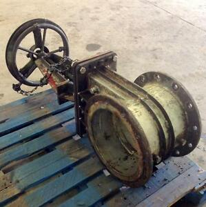 12 Knife Gate Valve No Label