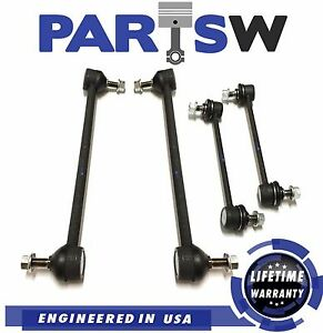 4pc Suspension Kit For Lexus Es300 Rx300 Fwd Toyota Camry Solara Avalon Sway Bar