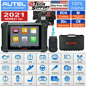 Autel Maxisys Ms906bt All System Diagnostic Tool Code Reader Scanner Mk808 Ds808
