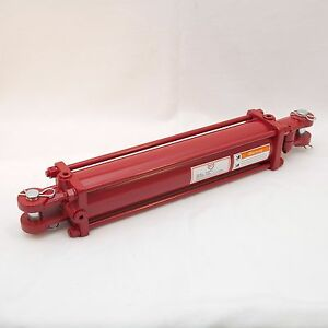 Tie Rod Cylinder 3 5 X 16 Hydraulic Double Acting 3 5 In Bore X 16 In Stroke