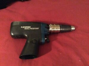 Synthes 530 615 Battery Reciprocator Ortho Drill Battery Is Not Included