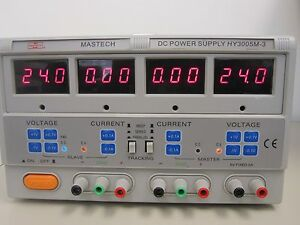 Mastech Hy3005m 3 Triple Linear Touch Panel Dc Power Supply