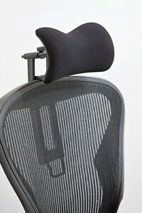Atlas Headrest For Herman Miller Aeron Chair Fabric With New Upgrades