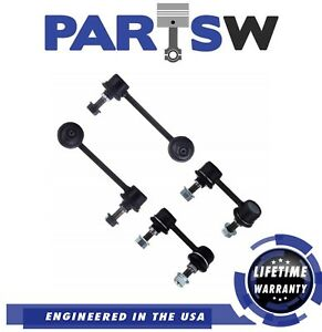 4 Pc Front Rear Suspension Kit Acura Cl Tl Honda Accord Sway Bar End Link