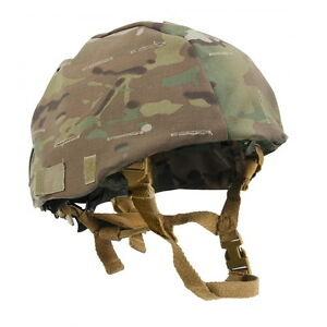 US Tactical Military MultiCam Camo Combat MICH Airsoft Paintball Helmet Cover