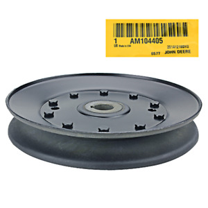 John Deere Original Equipment Idler Drive Pulley am104405