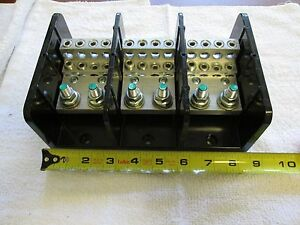 Power Distribution Block Line 3 8 16 Stud X 8 2 o 6 8 10 14 Marathon