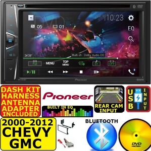 2000 2012 Chevy Gmc Pioneer Cd Dvd Bluetooth Usb Car Radio Stereo System Package