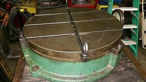 25 Troyke T slotted Rotary Table Model Bh 25