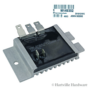 John Deere Original Equipment Voltage Regulator m149302