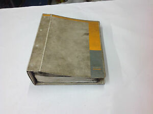 Case 760 Trencher Parts Catalog Manual W hard Binder 8 3005 Dated 1995