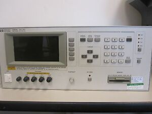 Hewlett Packard 4284a 20hz 1mhz Precision Lcr Meter Working Condition W o Cable