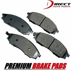 Front Brake Pads For Nissan Xterra 2000 2004 Frontier 03 04 Md830 Premium Brakes