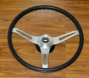 Comfort Grip Steering Wheel Kit Black Cushion 3spoke 67 8 Camaro Chevelle Impala