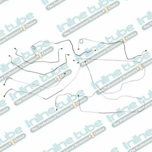 1981 87 Chevy Gmc Truck 1 Ton Long Brake Line Set W o Valve Dualy 4wd Stainless