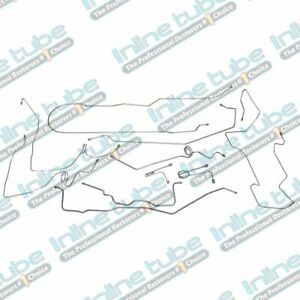 1995 99 Chevrolet Gmc 2500 Suburban Complete Brake Line Kit Set 4wd 3 4 Ton Oe