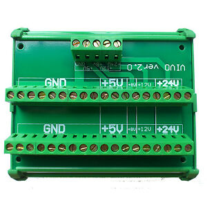 Dc 24v 8v 12v 5v Power Supply Wiring Distribution Terminal Blocks Splitter Board