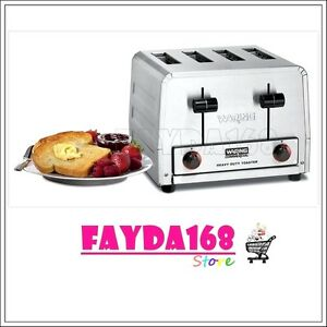 Commercial Toaster Standard 4 Slots Heavy Duty Stainless Steel Countertop Shop