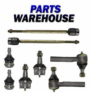 8pc Ball Joint Tie Rod End Kit For Mazda B2500 B3000 B4000 Ford Ranger 1y Wrty