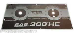Lincoln Sae 300 He Custom Mirrored Stainless Steel Faceplate Bw1066