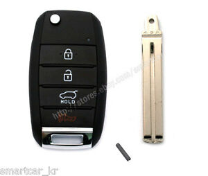 Keyless Entry Folding Transmitter Key For 2015 2016 2017 2018 Kia Sedona