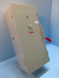 Westinghouse Gfn424n 200 Amp 240v Fusible General Duty Safety Switch Type 1 200a