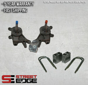 Street Edge 2 Front 3 Rear Lowering Kit For 84 97 Nissan 720 D 21 Hardbody