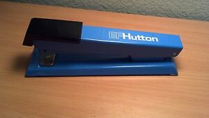 Ef Hutton Stapler