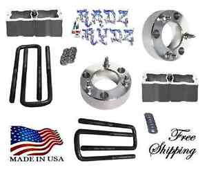 2007 2017 Silverado Sierra 1500 2 4wd 3 2 Lift Strut Spacers Leveling Lift Kit